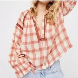 NWT - Free People Honey Grove Top | M